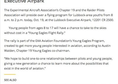Lubbock Online Young Eagles